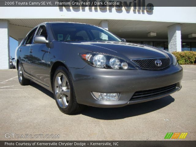 phantom gray pearl 2006 toyota camry se v6 dark. Black Bedroom Furniture Sets. Home Design Ideas