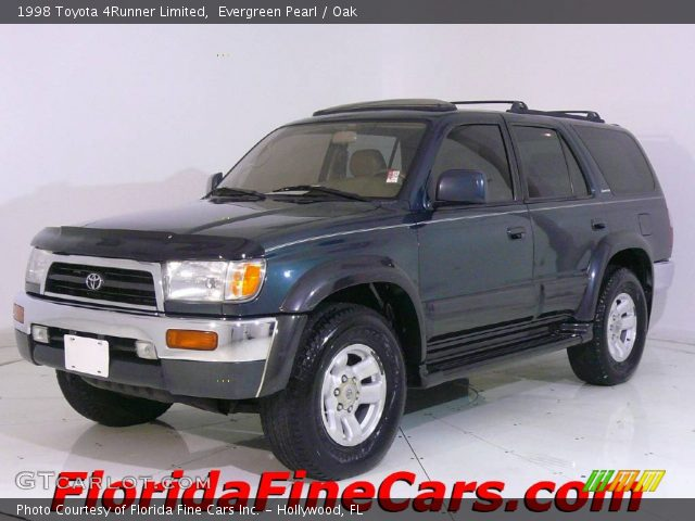 evergreen pearl 1998 toyota 4runner limited oak. Black Bedroom Furniture Sets. Home Design Ideas