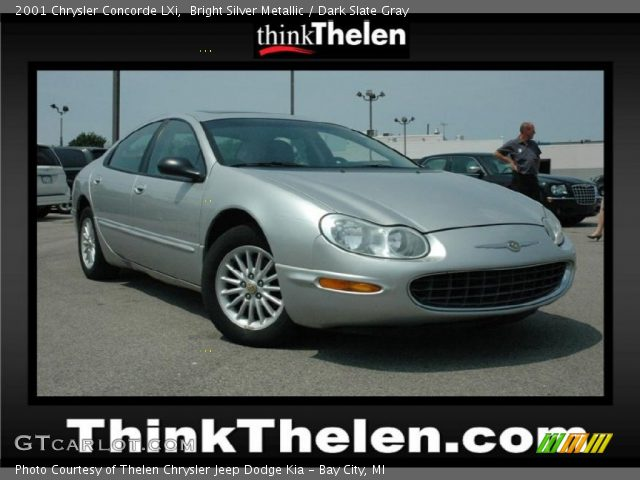 2001 Chrysler Concorde LXi in Bright Silver Metallic