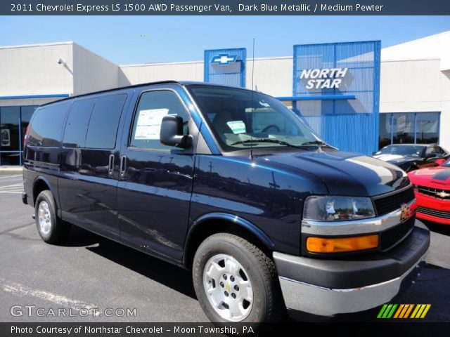 Chevrolet Express Ls  Awd Passenger Van In Dark Blue Metallic