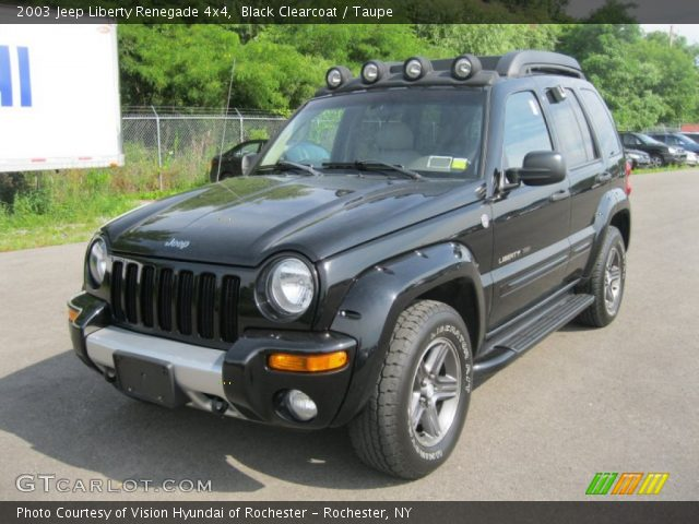 black clearcoat 2003 jeep liberty renegade 4x4 taupe. Black Bedroom Furniture Sets. Home Design Ideas