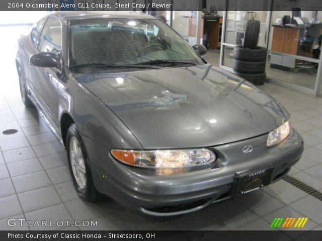 2004 Oldsmobile Alero GL1 Coupe in Steel Gray