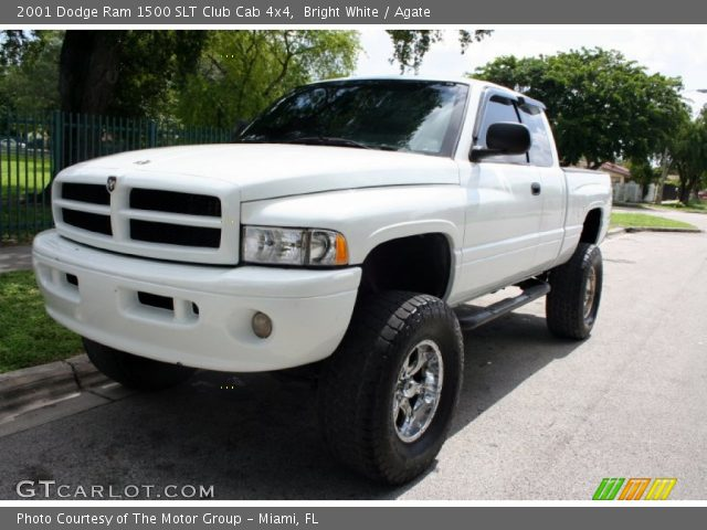 bright white 2001 dodge ram 1500 slt club cab 4x4 agate interior vehicle. Black Bedroom Furniture Sets. Home Design Ideas
