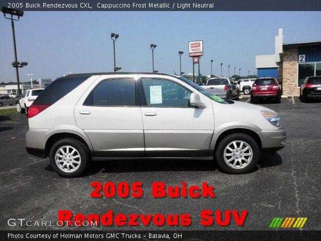 2005 Buick Rendezvous CXL in Cappuccino Frost Metallic