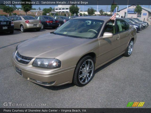 sandstone metallic 2005 chevrolet impala ls neutral. Black Bedroom Furniture Sets. Home Design Ideas