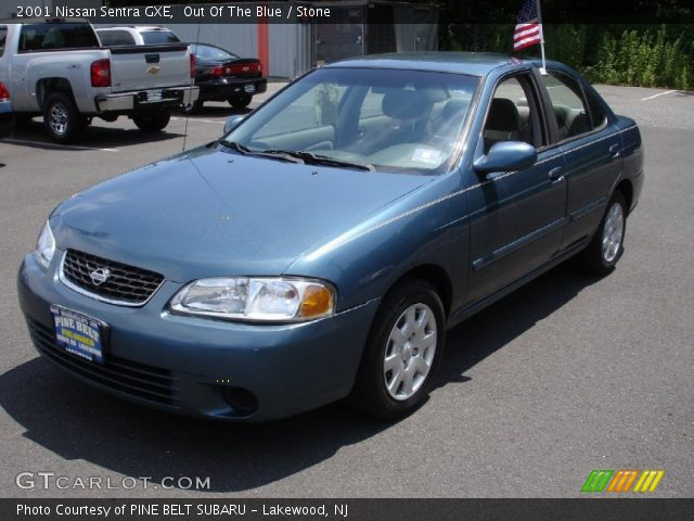 out of the blue 2001 nissan sentra gxe stone interior. Black Bedroom Furniture Sets. Home Design Ideas