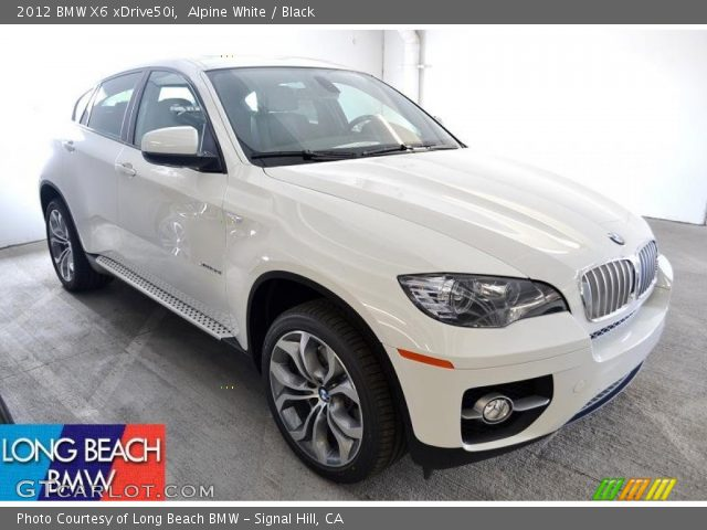 alpine white 2012 bmw x6 xdrive50i black interior. Black Bedroom Furniture Sets. Home Design Ideas