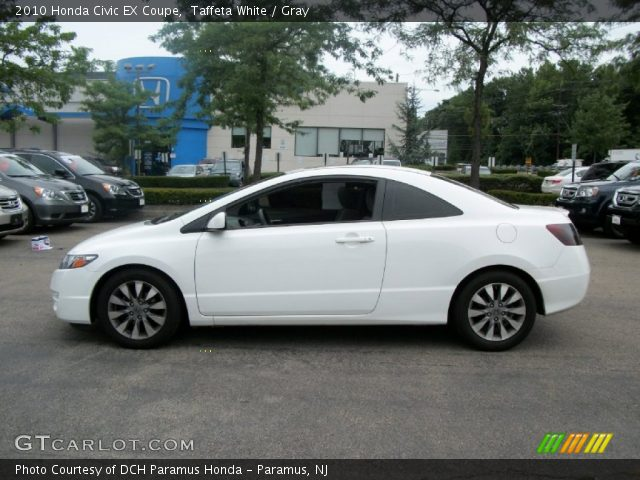 taffeta white 2010 honda civic ex coupe gray interior. Black Bedroom Furniture Sets. Home Design Ideas
