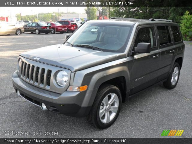 mineral gray metallic 2011 jeep patriot latitude x 4x4. Black Bedroom Furniture Sets. Home Design Ideas