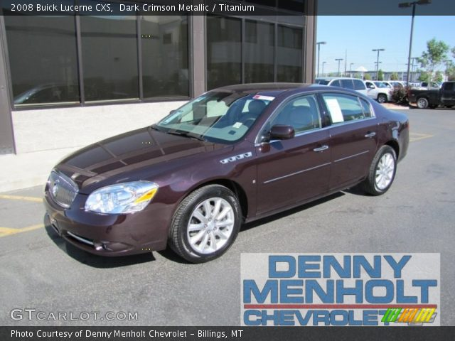 2008 Buick Lucerne CXS in Dark Crimson Metallic. Click to see large ...