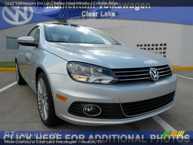 reflex silver metallic 2012 volkswagen eos lux. Black Bedroom Furniture Sets. Home Design Ideas