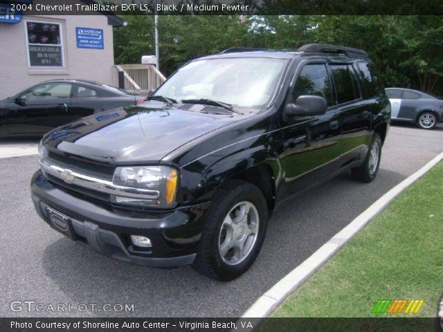 black 2004 chevrolet trailblazer ext ls medium pewter interior vehicle. Black Bedroom Furniture Sets. Home Design Ideas