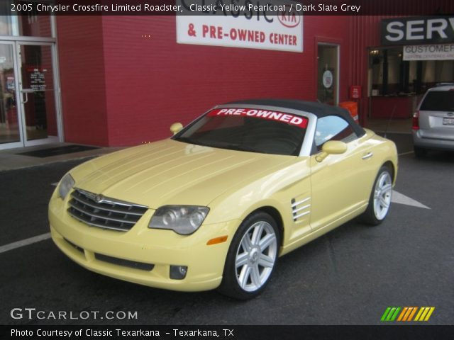 Purchase Used Chrysler Crossfire Convertible Grey: 2005 Chrysler Crossfire Limited