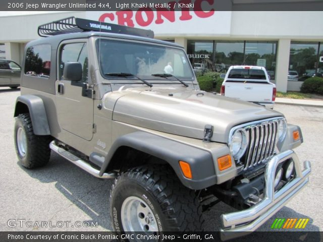 Light khaki metallic 2006 jeep wrangler unlimited 4x4 - Jeep wrangler unlimited interior lights ...