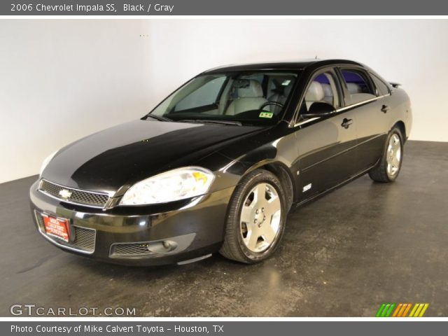 black 2006 chevrolet impala ss gray interior. Black Bedroom Furniture Sets. Home Design Ideas