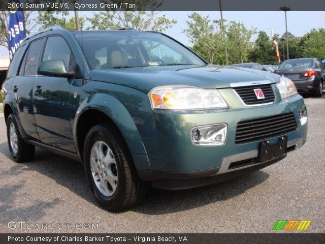 cypress green 2006 saturn vue v6 tan interior. Black Bedroom Furniture Sets. Home Design Ideas