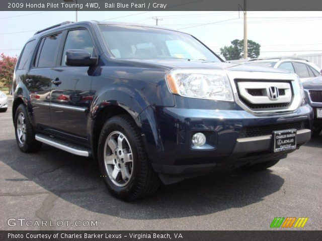 bali blue pearl 2009 honda pilot touring 4wd gray. Black Bedroom Furniture Sets. Home Design Ideas