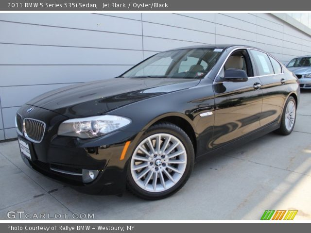jet black 2011 bmw 5 series 535i sedan oyster black interior vehicle. Black Bedroom Furniture Sets. Home Design Ideas