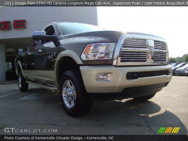 Sagebrush pearl 2011 dodge ram 2500 hd laramie longhorn - Dodge ram 2500 laramie longhorn interior ...
