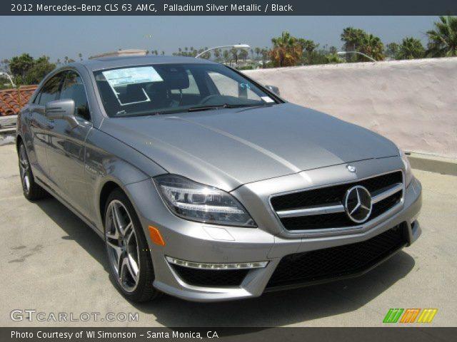 2012 Mercedes-Benz CLS 63 AMG in Palladium Silver Metallic