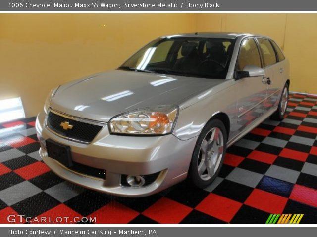 2006 Chevrolet Malibu Maxx SS Wagon in Silverstone Metallic. Click to ...