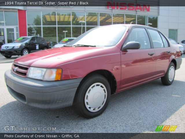 1994 Toyota Tercel DX Sedan in Super Red