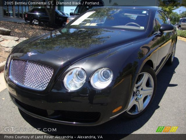 2005 Bentley Continental GT  in Diamond Black