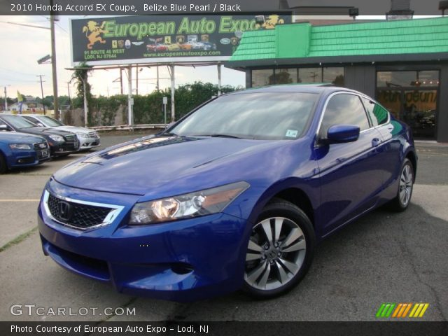 belize blue pearl 2010 honda accord ex coupe black. Black Bedroom Furniture Sets. Home Design Ideas