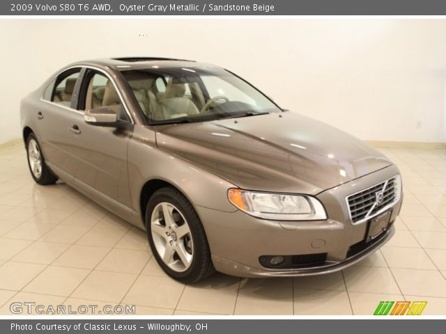 2009 Volvo S80 T6 AWD in Oyster Gray Metallic