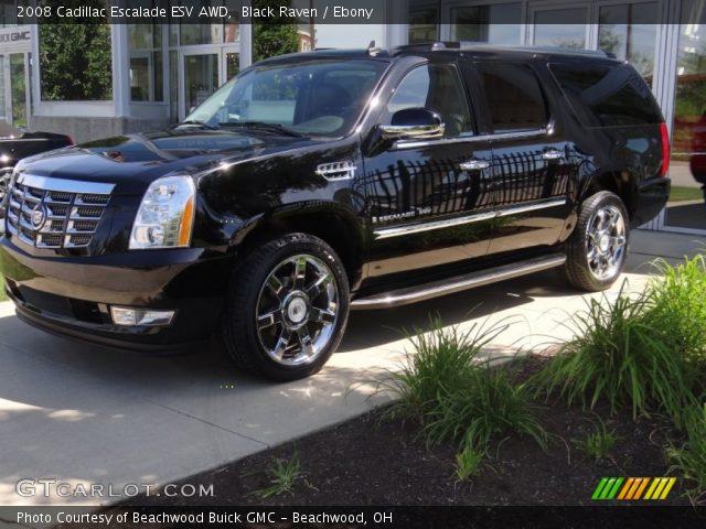 Black Raven - 2008 Cadillac Escalade Esv Awd