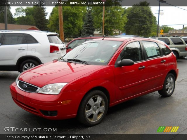 infra red 2007 ford focus zx5 ses hatchback charcoal. Black Bedroom Furniture Sets. Home Design Ideas
