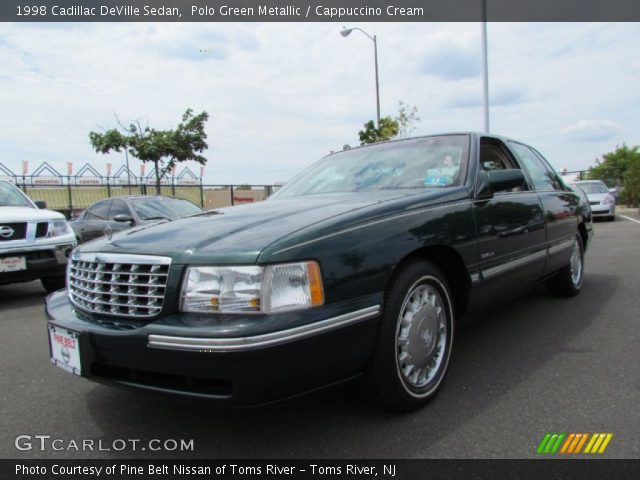 polo green metallic 1998 cadillac deville sedan. Cars Review. Best American Auto & Cars Review