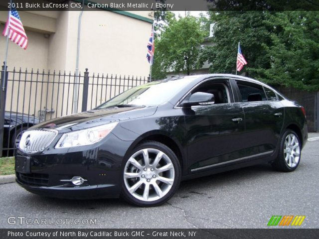 2011 Buick LaCrosse CXS in Carbon Black Metallic