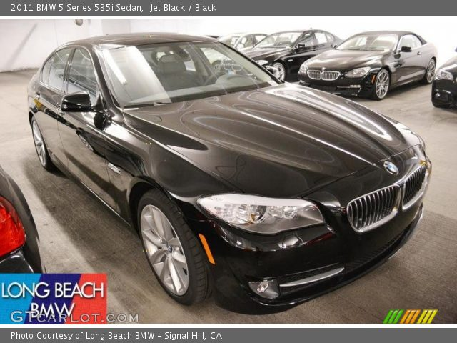 jet black 2011 bmw 5 series 535i sedan black interior vehicle archive 52310395. Black Bedroom Furniture Sets. Home Design Ideas