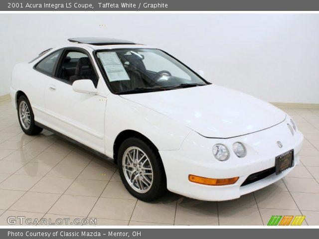 2001 Acura Integra Ls >> Taffeta White 2001 Acura Integra Ls Coupe Graphite