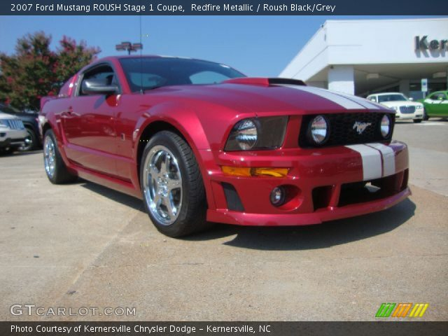 redfire metallic 2007 ford mustang roush stage 1 coupe. Black Bedroom Furniture Sets. Home Design Ideas