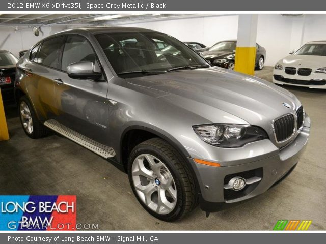 2012 BMW X6 xDrive35i in Space Grey Metallic