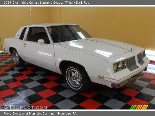 1985 Oldsmobile Cutlass Supreme Coupe in White