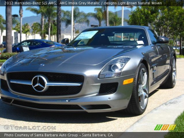 2012 Mercedes-Benz SLS AMG in AMG Imola Grey Metallic