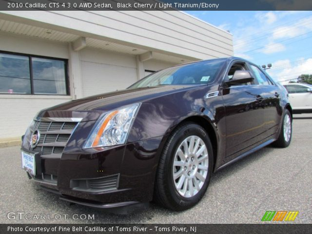 black cherry 2010 cadillac cts 4 3 0 awd sedan light. Black Bedroom Furniture Sets. Home Design Ideas