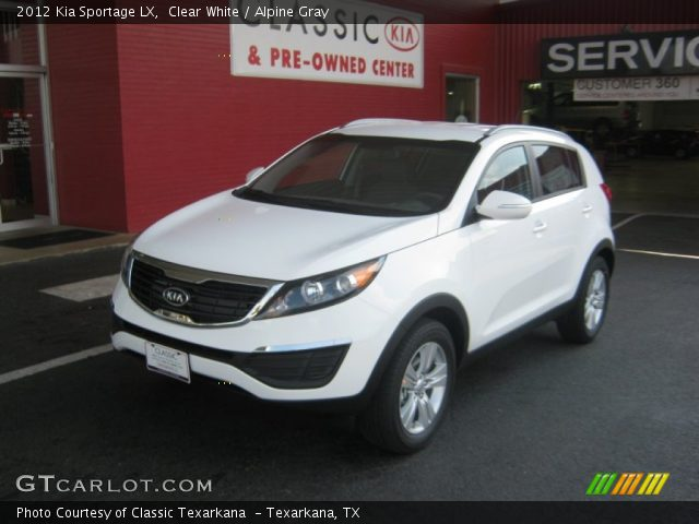 2012 Kia Sportage LX in Clear White