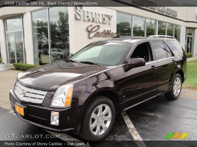 2008 Cadillac SRX V8 in Black Cherry
