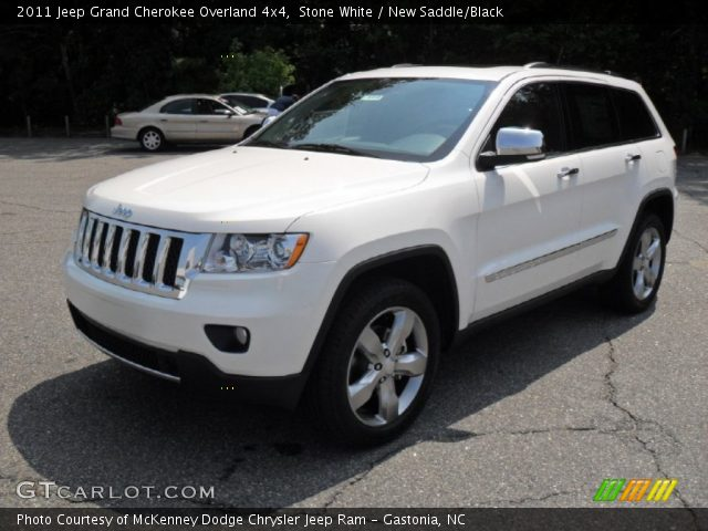 stone white 2011 jeep grand cherokee overland 4x4 new saddle black. Cars Review. Best American Auto & Cars Review