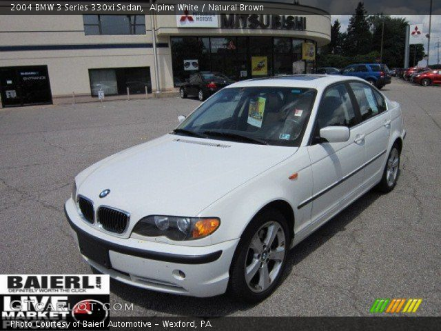 alpine white 2004 bmw 3 series 330xi sedan natural. Black Bedroom Furniture Sets. Home Design Ideas