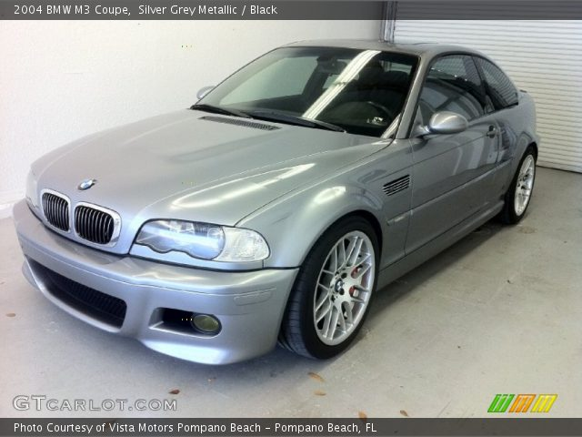 silver grey metallic 2004 bmw m3 coupe black interior. Black Bedroom Furniture Sets. Home Design Ideas
