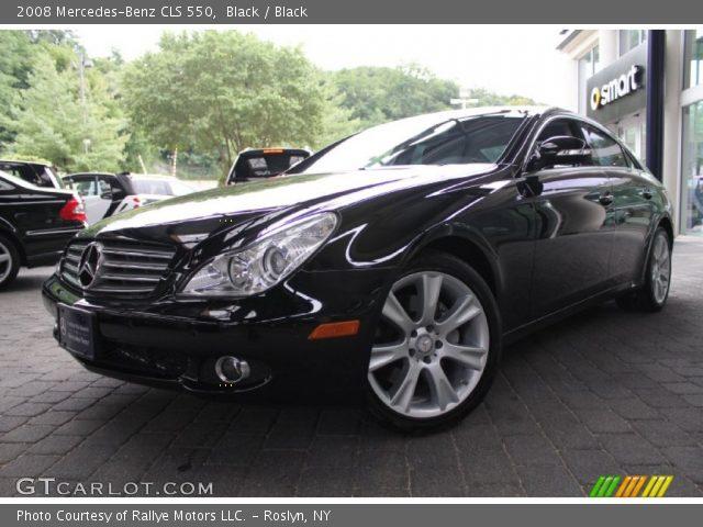 black 2008 mercedes benz cls 550 black interior vehicle archive 52658608. Black Bedroom Furniture Sets. Home Design Ideas