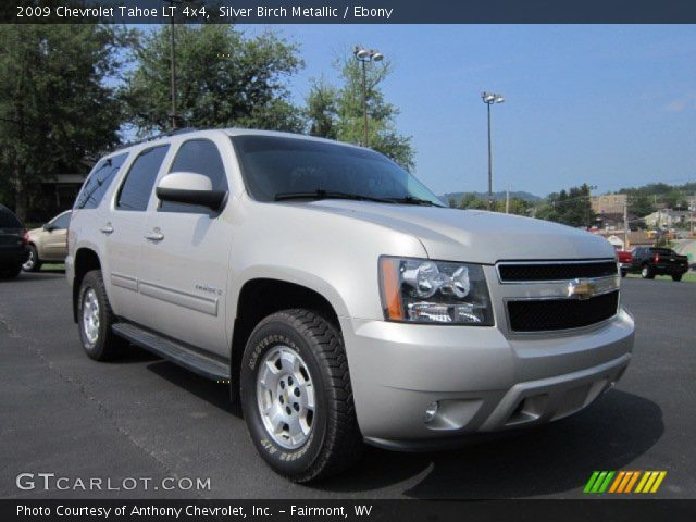 silver birch metallic 2009 chevrolet tahoe lt 4x4. Black Bedroom Furniture Sets. Home Design Ideas