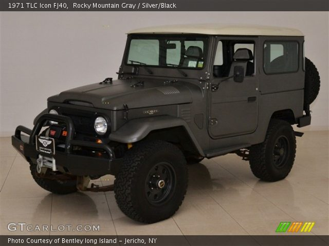 1971 TLC Icon FJ40 in Rocky Mountain Gray