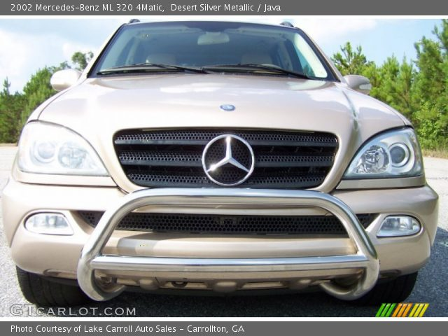 desert silver metallic 2002 mercedes benz ml 320 4matic. Black Bedroom Furniture Sets. Home Design Ideas