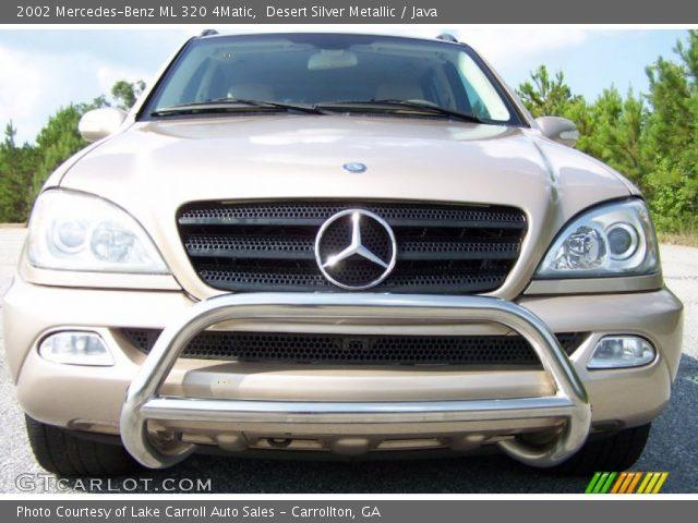 Desert silver metallic 2002 mercedes benz ml 320 4matic for Mercedes benz ml 2002
